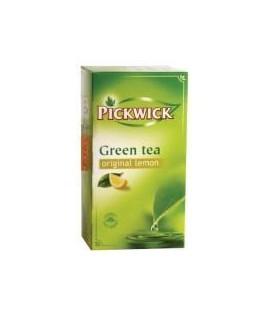 Žalioji arbata PICKWICK su citrina. 20 pak.