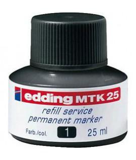 Tušas permanentiniams žymekliams EDDING MKT25, juodas