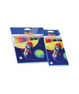 Spalvoti pieštukai JOVI, 12 spalvų
