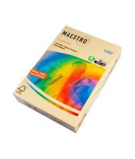 Spalvotas popierius Maestro A4, 160 g., 250 l., kreminė spalva