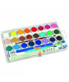Akvareliniai dažai JOVI, 24 spalvos