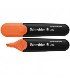 Teksto žymeklis SCHNEIDER JOB, oranžinis