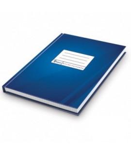Sąsiuvinis FORPUS A4, 192 l. langeliais, kietu mėlynu viršeliu