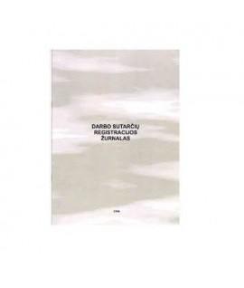 Darbo sutarčių registravimo žurnalas A4, 12 lapų