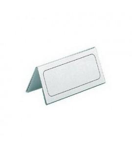Vardinė kortelė pastatoma DURABLE, 61/122 x 150 mm