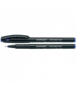 Rašiklis Schneider TOPLINER 967, 0,4mm, mėlynas