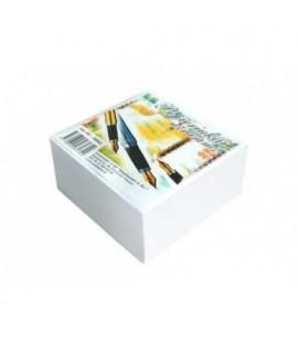 Lapeliai užrašams 90 x 90 , 500 lapelių, balti