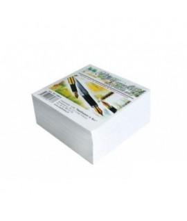 Lapeliai užrašams 80 x 80 , 500 lapelių, balti
