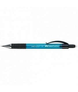 Automatinis pieštukas FABER CASTELL GRIP MATIC, 0,5 mm., mėlynos spalvos korpusas