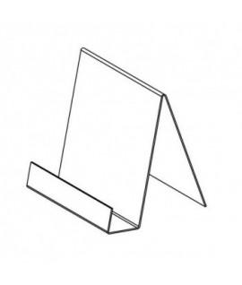 Bukletų stovelis A5, 150 x 210 mm, skaidrus