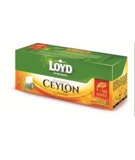 Juodoji arbata LOYD CEYLON TEA, 25 pak.
