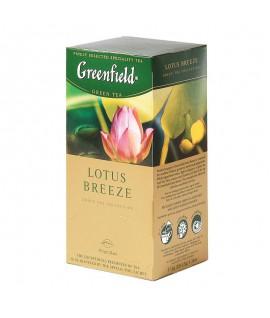 Arbata Greenfield Lotus Breeze, 25 pak. žalia