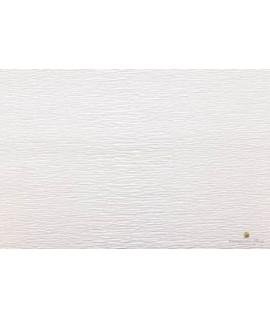 Popierius krepinis 50 cm x 2,5 m, 180 g/m2, baltas, Italija