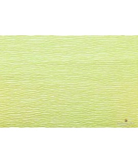 Popierius krepinis 50 cm x 2,5 m, 180 g/m2, šv.žalias, Italija