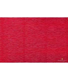 Popierius krepinis 50 cm x 2,5 m, 180 g/m2, t.raudonas, Italija