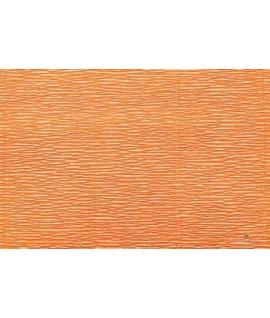 Popierius krepinis 50 cm x 2,5 m, 180 g/m2,oranžinis, Italija