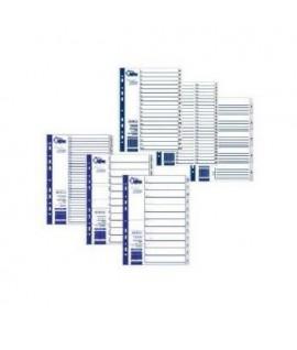 Skirtukai FORPUS A4, 1-31, plastikiniai, numeruoti