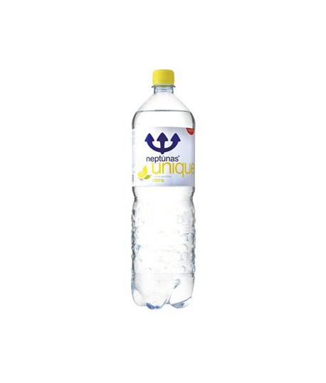 Mineralizuotas vanduo Neptūnas , 1,5 l. švelniai gazuotas, citrinų skonio