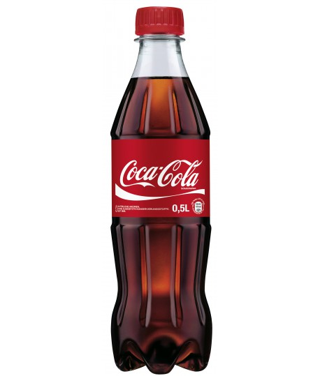 Gaivinantis gėrimas COCA COLA PET , 0,5 l
