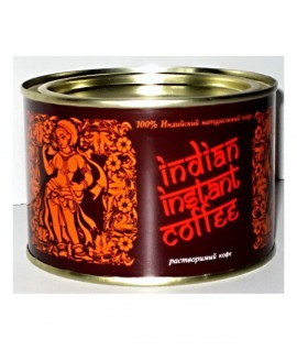 "Tirpi kava INDIAN INSTANT COFFEE ""Golden Bean"" skardinėje, 90g"