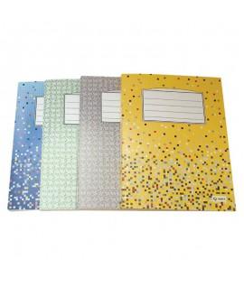 Segtuvėlis dokumentams MULTI-S, kartoninis, su svertiniu mechanizmu, A4, pilkas