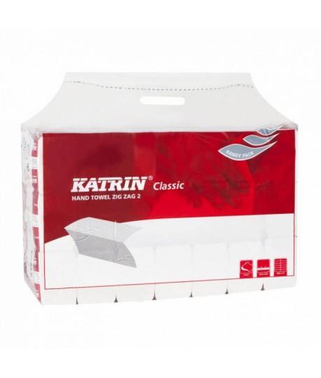 Rankšluostinės servetėlės KATRIN CLASSIC ZZ 2, , 1 pakas