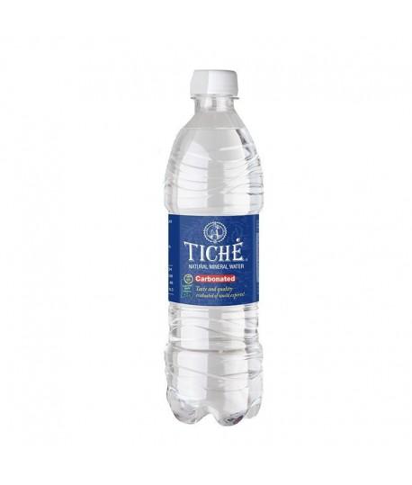 Natūralus mineralinis vanduo TICHĖ , gazuotas, 0,5 l PET D