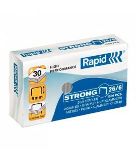 Sąsagėlės Rapid Strong, 26/6, 1000vnt.