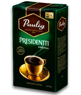 Kava PAULIG PRESIDENT malta, 500 g