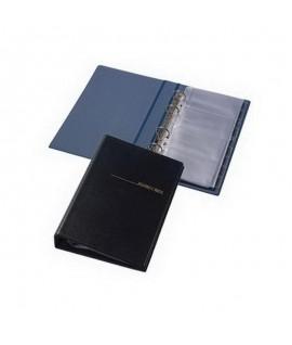 Vizitinių kortelių albumas 200 kortelių , su abėcėliniais skirtukais