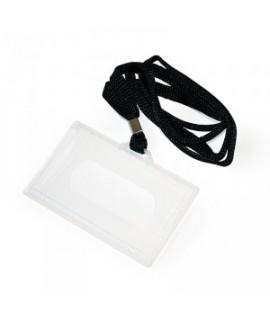 Kabinama vardinė kortelė ARGO su juoda juostele