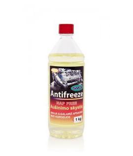 Aušinimo skystis ANTIFREEZE -37* geltonas (NAP FREE) 1 kg