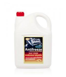 Aušinimo skystis ANTIFREEZE -37* geltonas (NAP FREE) 5 kg