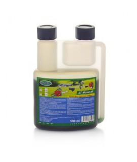Alyva dvitakčiams varikliams 2T 500 ml SAVEX (žalia)
