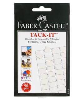 Lipnūs kvadratėliai Faber Castell 90 vnt.