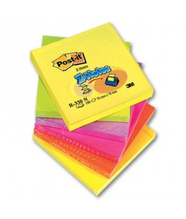 Lipnūs lapeliai POST-IT Z notes 76 x 76 mm, 6 x 100 lapelių