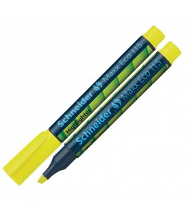 Teksto žymeklis SCHNEIDER MAXX ECO 115, 1-4 mm, geltonas
