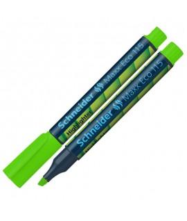 Teksto žymeklis SCHNEIDER MAXX ECO 115, 1-4 mm, žalias
