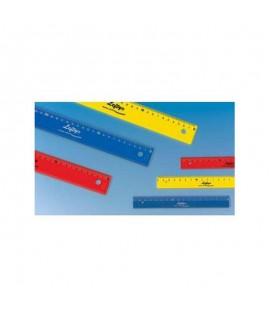 Plastikinė liniuotė WEDO, 30 cm , KAIRIARANKIAMS