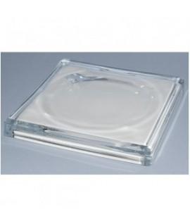 Stiklinė lėkštutė grąžai GLASS 3, 15 x 15 cm