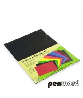Kartonas Penword A3, dvipusis , juodas. 10 lapų