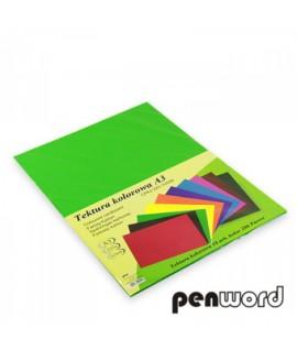 Kartonas Penword A3, dvipusis , žalia, 10 lapų