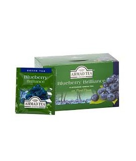 Arbata AHMAD GREEN BLUEBERRY TEA, 20 vnt.