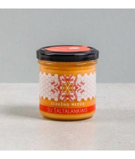 Medus su šaltalankiais, 200 g (Šerkšno medus)