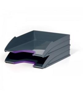 Lentynėlės dokumentams VARICOLOR pilka/violetinė, 2 vnt.