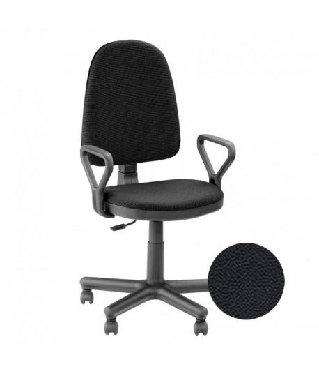 Biuro kėde OPTIMA , juodos spalvos dirbt. oda PRISTATYMAS 7 d.