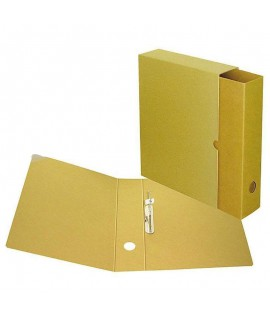 Segtuvas Smiltainis su archyvine dėže, A4, 70 mm, rudos spalvos