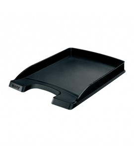 Lentynėlė dokumentams LEITZ PLUS SLIM, 3,5 cm, juoda