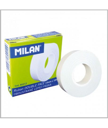 Dvipusė lipni juostelė MILAN 15 mm x 10 m