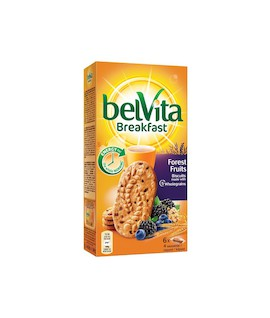 Sausainiai BELVITA 5 grūdų, pieniški, 300 g